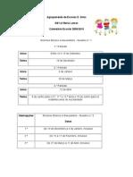 Calendário Ano Lectivo 2009-2010