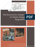 Economics of Urban Design Policy PowerPoint Presentation