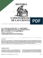 Historia y epistemología de las ciencias