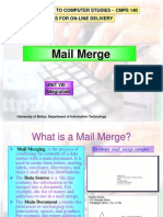 Unit 8 -Mail_merge