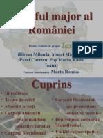 Relieful Major Al Romaniei