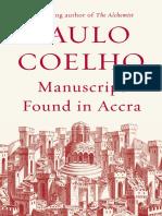 Manuscript Found in Accra by Paulo Coelho - Excerpt