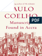 Manuscript Found in Accra by Paulo Coelho - Excerpt