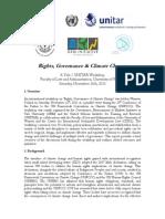 YaleUNITAR_Warsaw Workshop Report 20140103