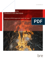 KN4681 - LPLPCB Fire and Security Products and Services