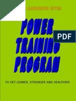 Andrew Gym Power Training Program