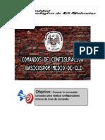 Comandos de configuración básicos por medio de CLI