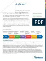 Brochure Guidewire PolicyCenterES