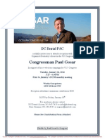 Reception for Paul Gosar