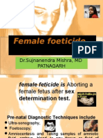 Female Foeticide