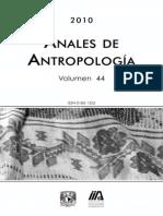 Vol 44, 2010 - Anales Antropologia