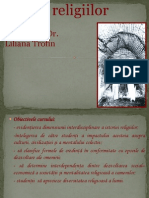 I Istoria Religiilor Trofin Liliana.