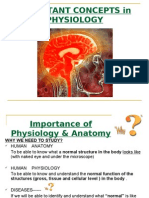 Lecture 2 HUMAN Physiology