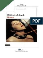 Jelinek Elfriede - Deseo