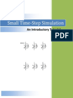 Small Time-Step Tutorial
