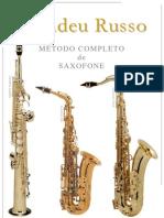 SAXOFONE - MÉTODO - Amadeu Russo