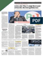 Primeros resultados de las elecciones italianas