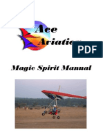 Manual for Magic Spirit Microlight Trike