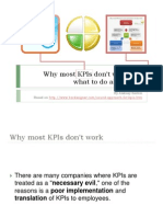 Why Most Kp is Dont Work and What to Do About This