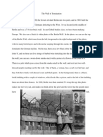 Description of Berlin Wall Paragraph