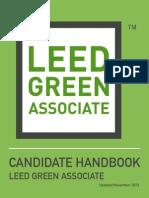 LEED Green Associate Candidate Handbook 11-18-13