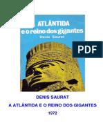 A Atlantida e o Reino Dos Gigantes