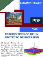 ESTUDIO TECNICO PROYECTOS