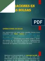10. Operaciones en Las Bolsas