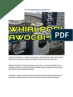 Masina de Spalat Rufe Whirlpool AWOC81401
