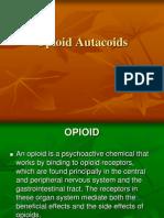 Opioids Autacoids Ppt