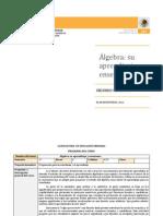 Algebra Su Aprendizaje y Ensenanza Lepri