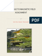 Force Due to Magnetic Field-Assignment
