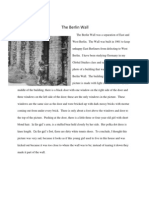 The Berlin Wall- Descriptive Paragraph