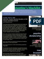 Strahlenfolter Stalking - TI - Dorothy Burdick - Interview - EM Torture and Mind Control - Aconstantineblacklist.blogspot.de