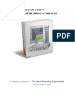 Firewire Audio Interfaces Guide