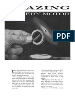 Amazing Mystery Motor