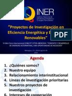 Presentación INER - Mini Foro Energías Renovables
