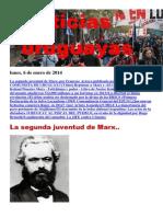 Noticias Uruguayas Lunes 6 de Enero Del 2014