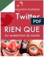 TWITTER - Marketing Social de Masse