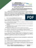Edital 13-2013 Unificado Obtencao, Reopcao e Transferencia