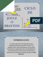 Ciclo de Joule o Brayton