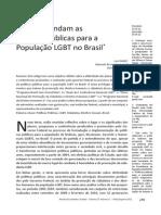 Por onde andam as políticas públicas LGBT no Brasil?