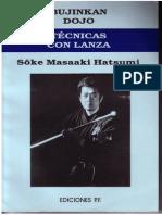 Ieym Tecnicas Con Lanza Masaaki Hatsumi