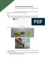 Instrument Softwaret Upgrading Instruction V1.1e
