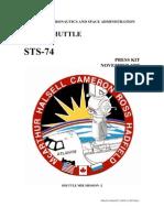 NASA Space Shuttle STS-74 Press Kit