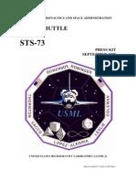 NASA Space Shuttle STS-73 Press Kit