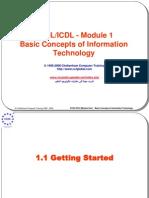 40530 Ecdl Slides Module 1