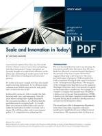 12.2011 Mandel Scale and Innovation in Todays Economy