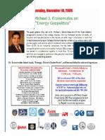 Energy Geopolitics 2009