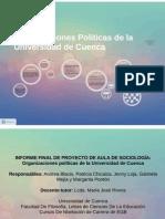 Organizaciones Políticas de la Universidad de Cuenca